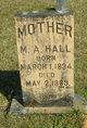 M A Hall