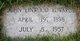 "John Linwood ""Pop"" Edwards, Sr"
