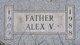 "Profile photo:  Alexander Vincent ""Alex"" Balwinski"