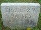 Charles W. Barnes, Sr