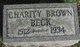 Profile photo:  Charity <I>Brown</I> Beck