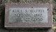 Profile photo:  Alice O. <I>Scott</I> Allfree