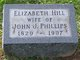 Elizabeth <I>Hill</I> Phillips