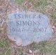 Esther E Simons
