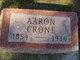 Profile photo:  Aaron Crone