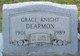 Grace <I>Knight</I> Dearmon
