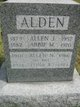 Abbie Marie <I>Cox</I> Alden
