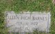 Ellen E. <I>High</I> Barnes