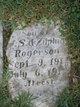 Profile photo:  (Unknown) Rogerson