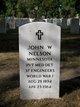 John W Nelson