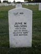 June Marceline <I>Oen</I> Nelson