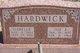 """Joseph Ernest """"Joe"""" Hardwick"""
