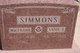 "W. M. ""Frank"" Simmons"