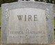 Profile photo:  Adeline L. Wire