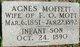 Profile photo:  Agnes <I>Moffett</I> Mott