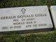 Gerald Donald Eisele
