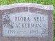 Flora Nell <I>Shearer</I> Ackerman
