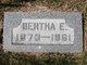 Bertha E. <I>Maltman</I> Barrick