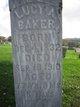 Lucy A. <I>Shumaker</I> Baker