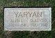 Profile photo:  Alvin L. Yaryan