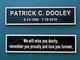 Patrick Christopher Dooley