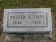 Warren B Cripe