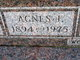 Profile photo:  Agnes I. <I>Blubaugh</I> Blubaugh