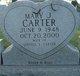 Profile photo:  Mary Jo <I>Sanders</I> Carter