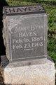 Mary Etta <I>Hill</I> Hayes