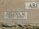 Helena M. <I>Hinzman</I> Abitz