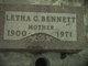 Letha C Bennett