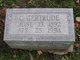 Profile photo:  Gertrude Cora <I>Chamberlain</I> Albright