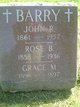 "Rosetta B ""Rose"" <I>Courtney</I> Barry"