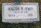 Walter Blose Irwin