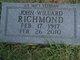 John Willard Richmond