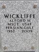 Profile photo:  Alford M Wickliffe