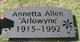 """Annetta """"Arlowyne"""" Allen"""