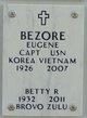 """CPT Eugene """"BZ"""" Bezore"""