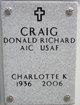 Profile photo:  Charlotte Ann <I>Kilgore</I> Craig