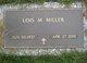 Lois Mae <I>Watters</I> Miller