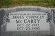 James Chancey McCarty