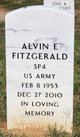 Profile photo:  Alvin Eugene Fitzgerald