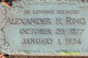 Alexander Hampton Ring Sr.