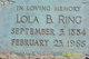 Lola Bessie <I>Poulton</I> Ring