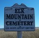 Elk Mountain Cemetery
