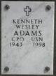 Kenneth Wesley Adams, Sr