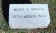 Mary E. <I>Acom</I> Bruce