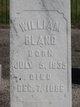 Profile photo:  William Bland