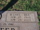 "Profile photo:  D'Lois ""Dee"" <I>Shultz</I> Carpenter"