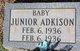 Profile photo:  Baby Junior Adkison